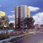 Новый дом в ЖК Циолковский построят при поддержке Сбербанка